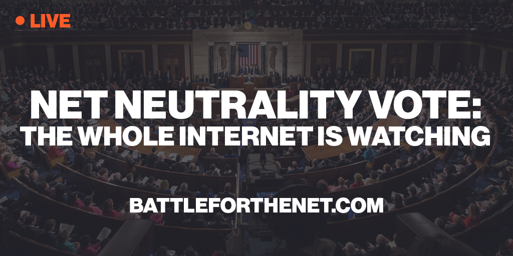 Join the Battle for Net Neutrality