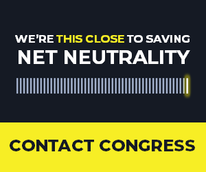 We're *this close* to saving net neutrality